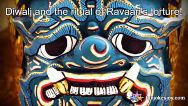 Diwali and the ritual of Ravaan's torture!