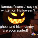 Famous Halloween Financial Statement