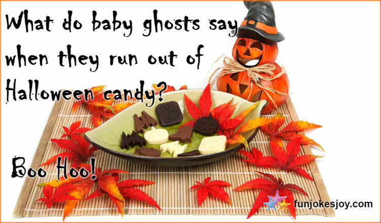 Halloween Candy Treats With Baby Ghosts