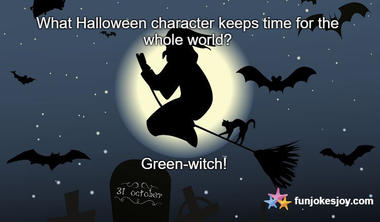 Halloween Character Which Keeps Time