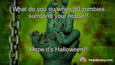 Halloween Zombies Surrounding Your House
