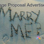 Marriage Proposal Advertisement