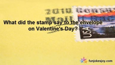 Postage Stamp Dilemma On Valentine Day
