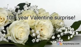 Reason for Giving White Roses on Valentine's Day!