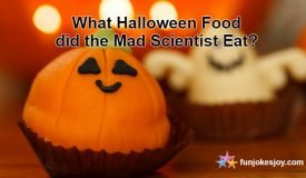 What Halloween Food did the Mad Scientist Eat?