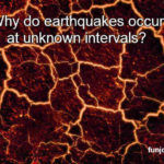 Why do earthquakes occur at unknown intervals?