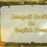 Bengali Recites An English Poem