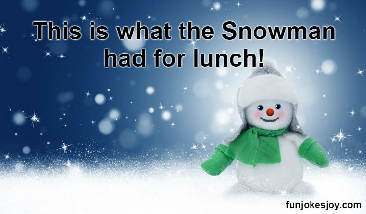 Snowman's Lunch