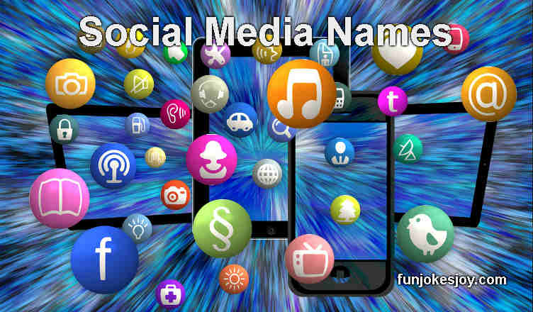 Social Media Names of People