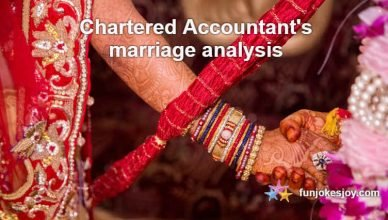 Chartered Accountant's marriage analysis