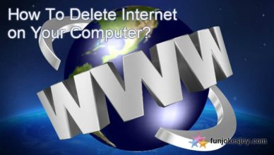 How To Delete Internet on Your Computer?