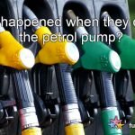 What happened when they opened the petrol pump?