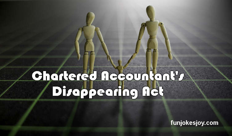 Chartered Accountant's Disappearing Act