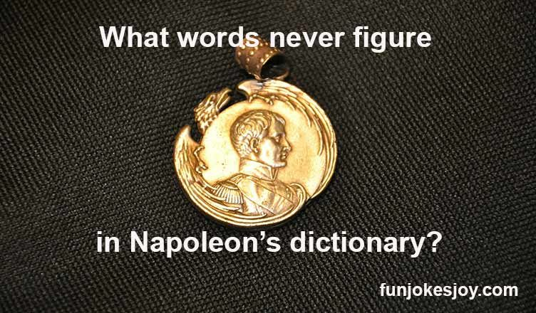 Napoleon's dictionary