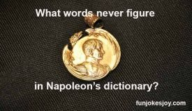 Napoleon's Dictionary Does Not Contain These Words