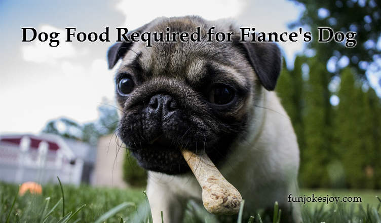 Dog Food Required for Fiance's Dog