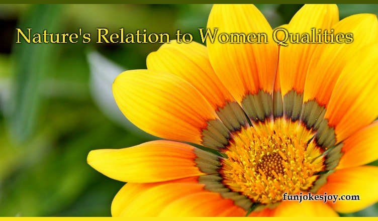 Nature's Relation to Women Qualities
