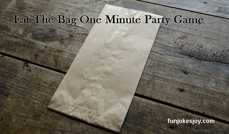 Eat The Bag One Minute Party Game