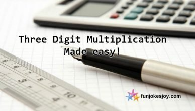Three digit multiplication the easy way