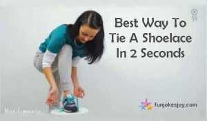 Best Way to Tie a Shoelace in 2 Seconds