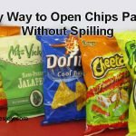 Easy Way to Open Chips Packet Without Spilling