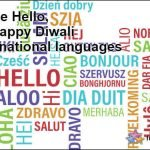 Happy Diwali in International Languages