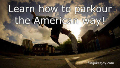 Learn How to Parkour the American Way!