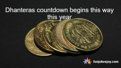 Dhanteras countdown begins this way this year