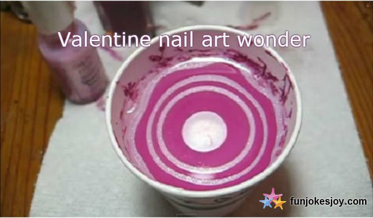 Marble Nail Art Wonder for this Valentine!