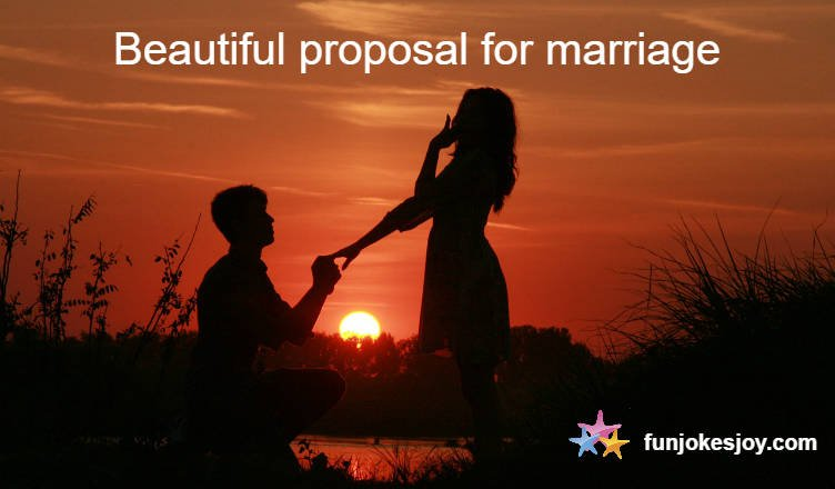 Marriage Proposal Which Could Blow Your Mind