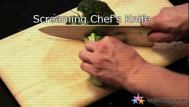 heard about the screaming Chef's knife?