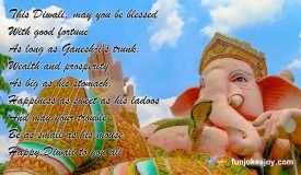 This Diwali be Blessed with Good Fortune