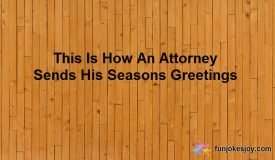 Attorney's Seasons Greetings Could Be a Tough Call!