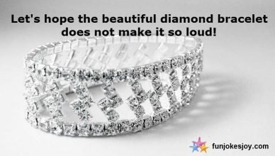 Beautiful Diamond Bracelet Makes a Woman Fart!