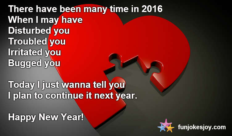 Help Yourself With A New Year Message Twist