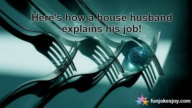 Here's how a house husband explains his job!