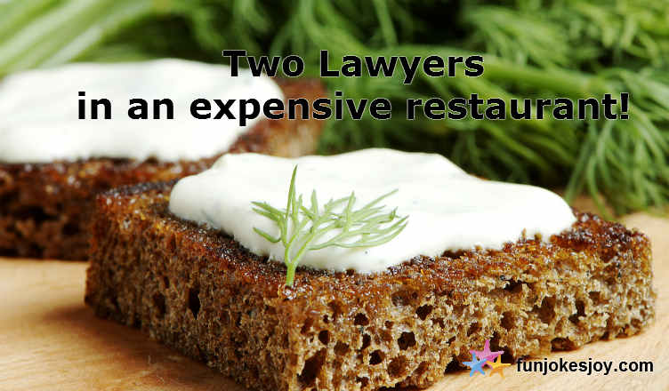 Lawyers Flout Expensive Restaurant Rules