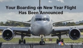 Announcement for New Year Flight to Take off this Year