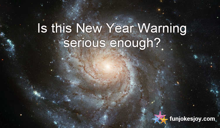 Serious New Year Warning from NASA!