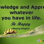 Quotes about Happiness in Life and Appreciation