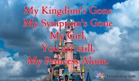 A Beautiful Message for your Valentine Princess!