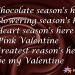 This Season the Perfect Valentine Reason for you!