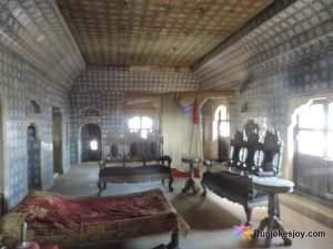 Royal Room at Jaisalmer fort