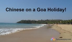 The Goa Holiday Costed the Chinese Dearly!