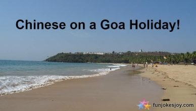 Chinese on a Goa Holiday