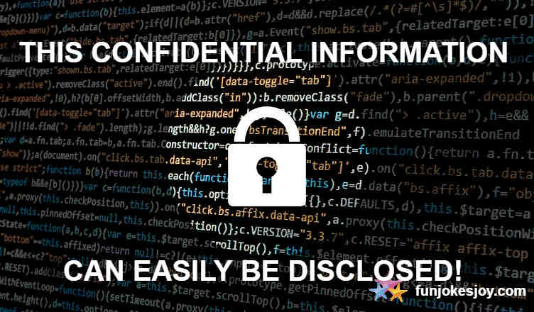 What Happens if you Disclose Confidential Information?