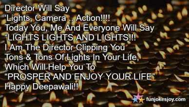 Cinema Style Diwali Message For Your Friends