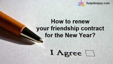 Renewal Of Friendship Contract For The Next Year!
